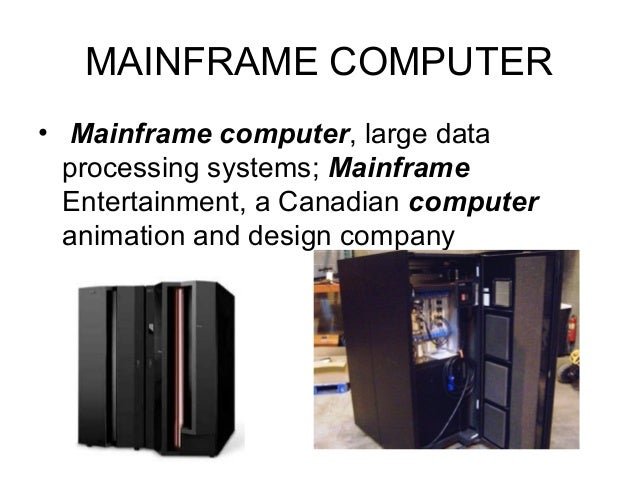 supercomputers computer and current processing capacity Supercomputers are very different from mainframe computers a supercomputer is a computer that is at the frontline of current processing capacity, particularly speed of calculation.