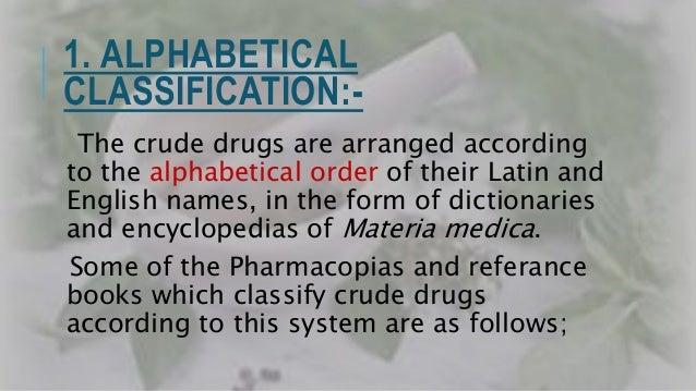i. European Pharmacopia.(E.P) - (Latin). ii. British Pharmacopia.(B.P) - (English). iii.United States Pharmacopia.(U.S.P) ...