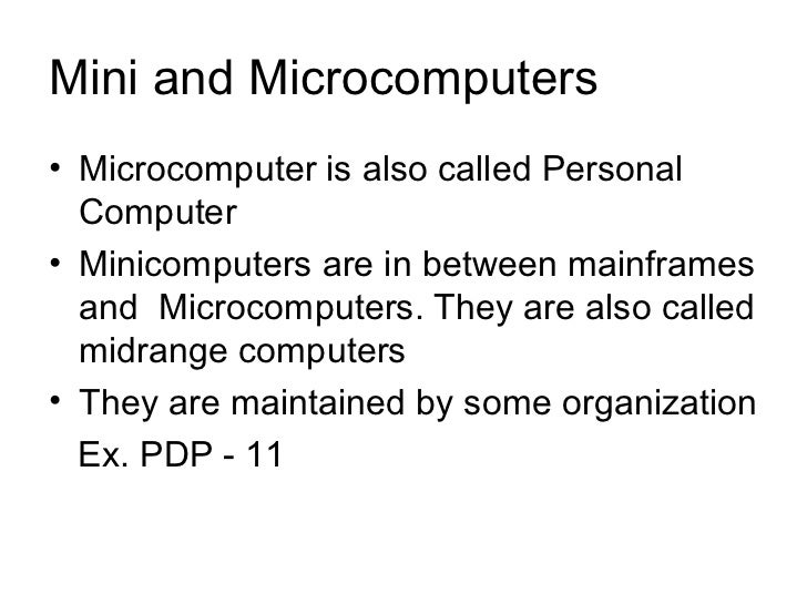 Classification of digital computers