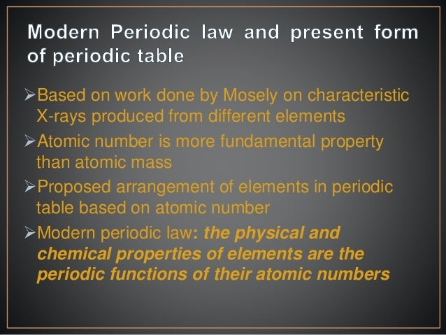 Classification of elements if outer electronic configuration of atoms are same then their properties are same 11 urtaz Images