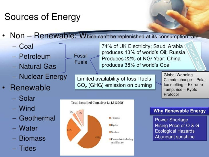 Classification Of Energy Resources Problems Amp Prospects1