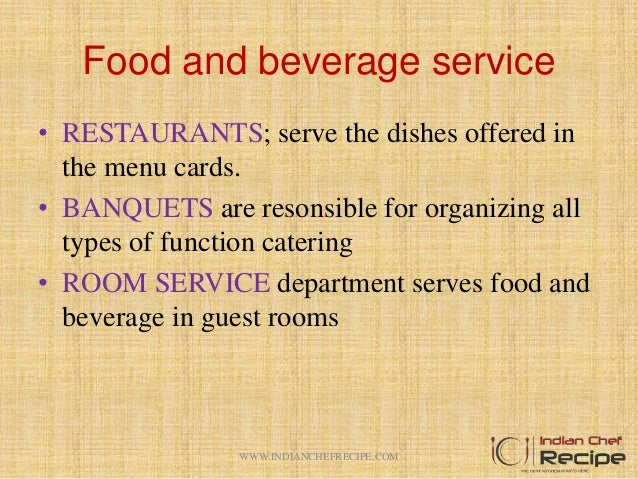 food and beverage classifications This is another crucial one among the 5 different sectors of the hospitality industry  it's another wide sector of the hospitality industry food and beverage sector.