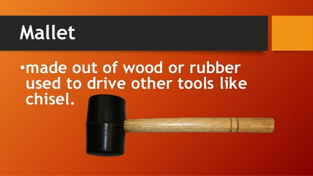 Classification Of Hand Tools Part 3