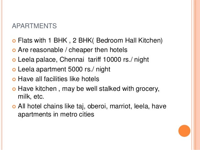 classification of hotels - Hotel Chains With Kitchens