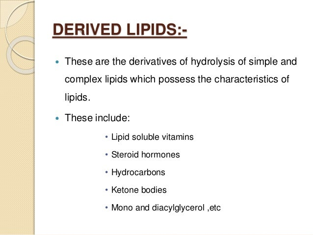 steroid hormones come from what lipid