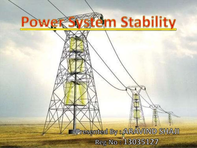 power system stabilizers thesis Certificate this is to certify that the dissertation entitled artificial neural network and fuzzy logic system based power system stabilizers, being submitted by mr.