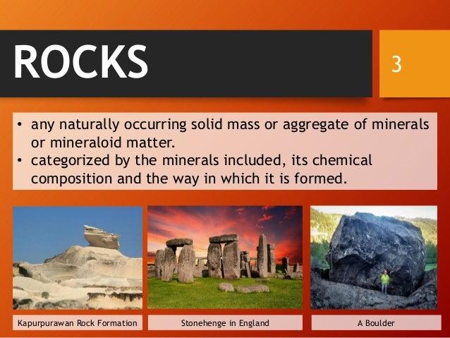 Classification of Rocks Slide 3