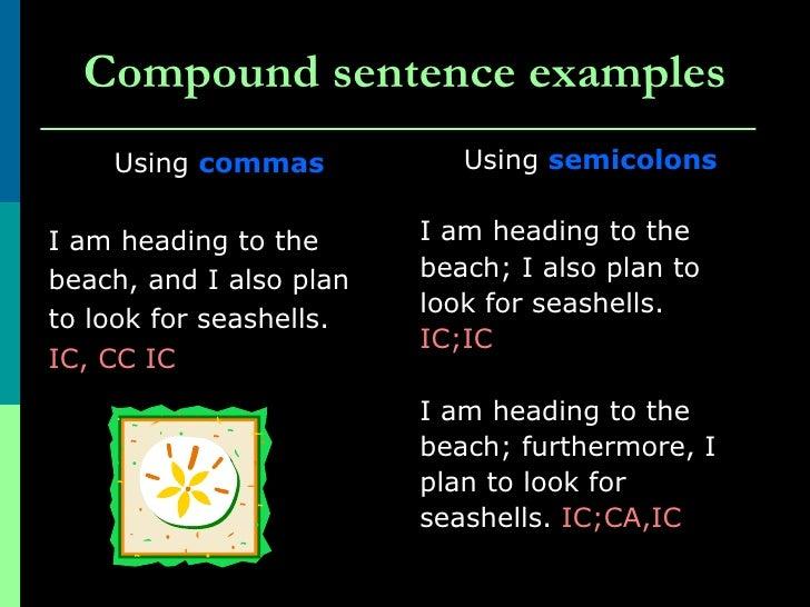 classification of sentences