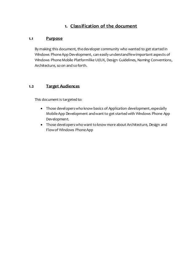 1. Classification of the document 1.1 Purpose By making this document, the developer community who wanted to get started i...