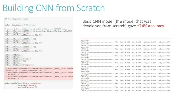 Object classification using CNN & VGG16 Model (Keras and