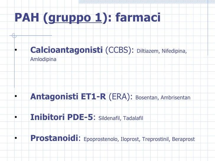 Ipertensione polmonare: classificazione, fisiopatologia..