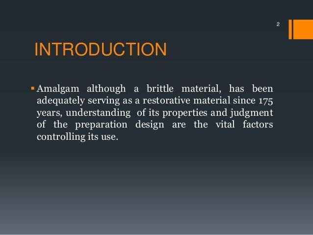 Class ii amalgam Slide 2