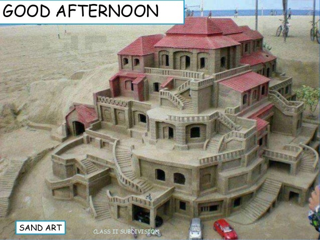 GOOD AFTERNOON CLASS II SUBDIVISION SAND ART