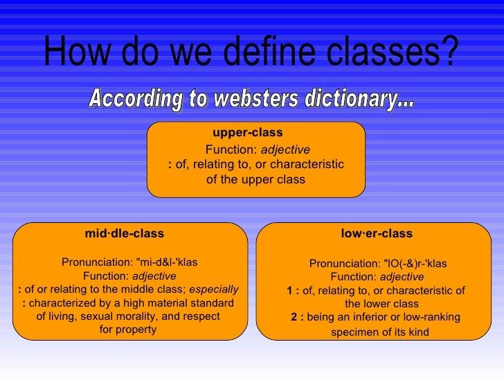 Classism Slide 3