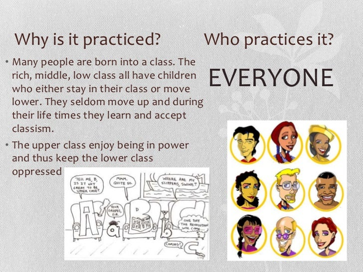 Classism in asia and the middle east Slide 2