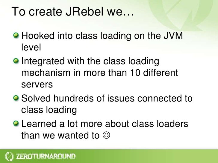 Do you really get class loaders?  Slide 3