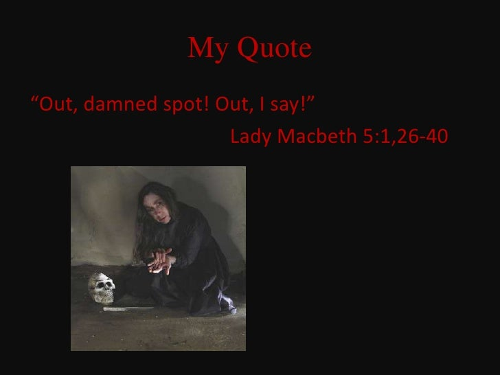 6th Grade Class Macbeth Quotes