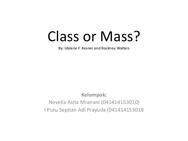 class or mass case What is the difference in class action and mass torts a class action is a  a court decides each settlement on a case-to-case basis to illustrate, class action.