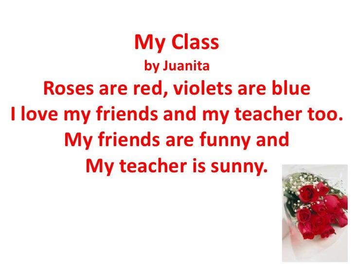 Miss Polks Class Poems