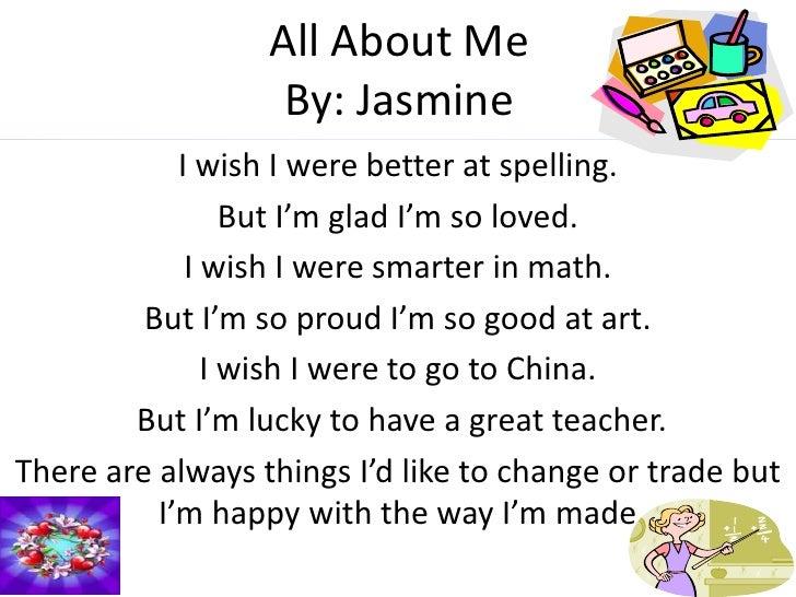 Miss Griffins Class Poems