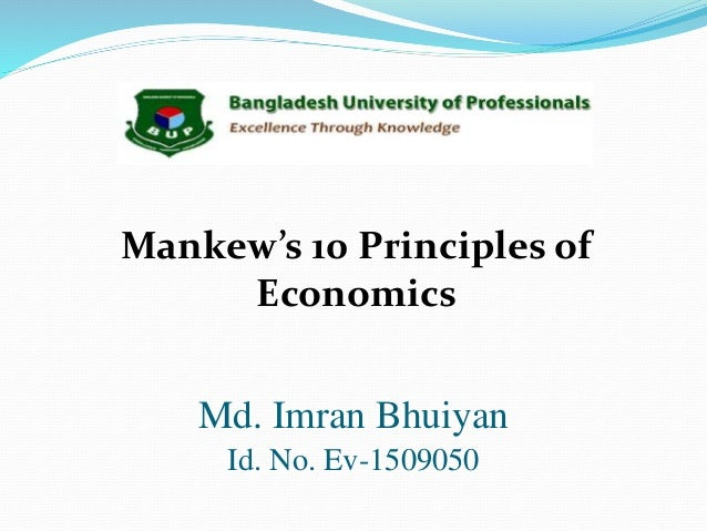 10 principles of economics Principles of economics foreword by peter g klein introduction by fa hayek translated by james dingwall and bert f hoselitz ludwig von mises institute auburn, alabama.