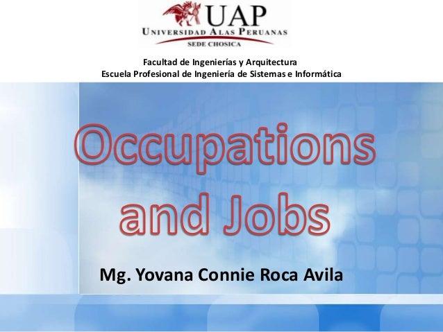 Facultad de Ingenierías y ArquitecturaEscuela Profesional de Ingeniería de Sistemas e InformáticaMg. Yovana Connie Roca Av...