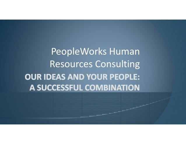 PeopleWorks Human Resources Consulting