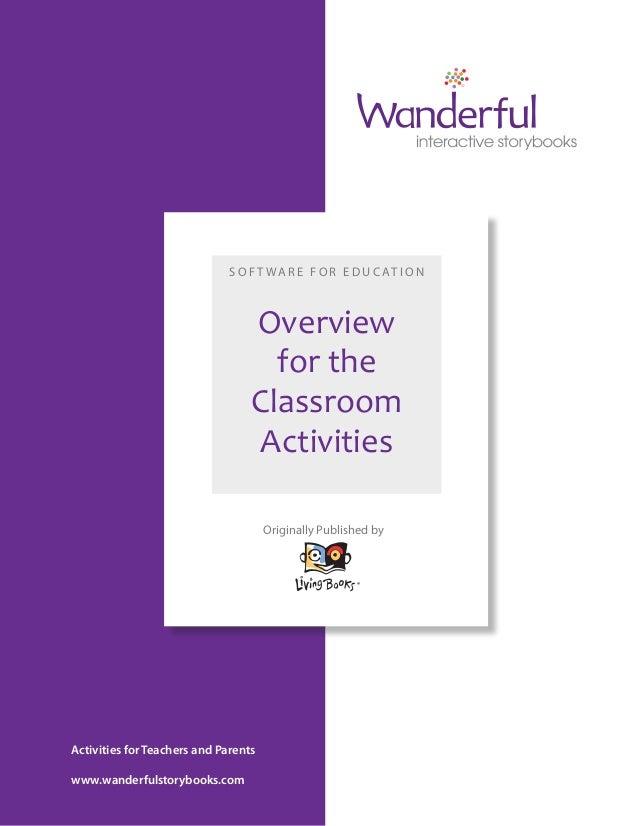 Living BooksL Classroom Activities Overview