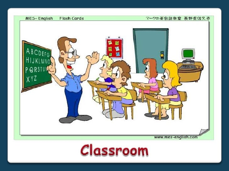 Classroom Objects Powerpoint Activities