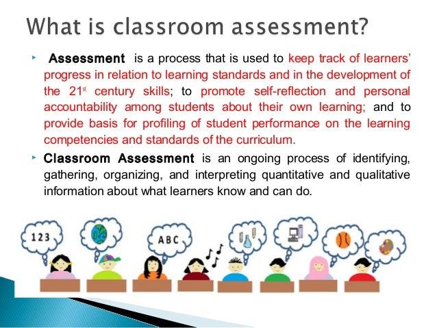 Resultado de imagem para assessment in classroom