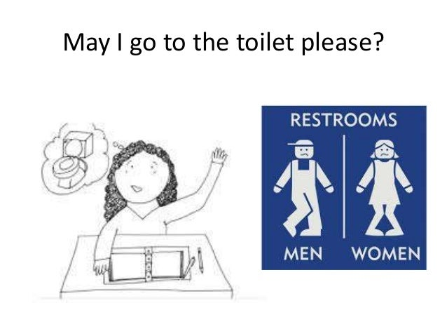 May I go to the toilet please. Classroom commands