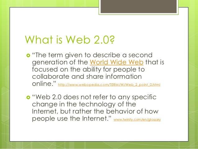 Classroom curriculum in a web 2 Slide 2