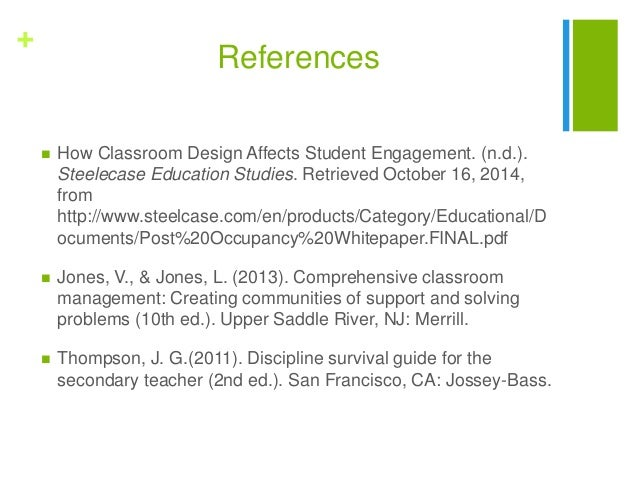 How Classroom Design Affects Student Engagement ~ Classroom environment presentation