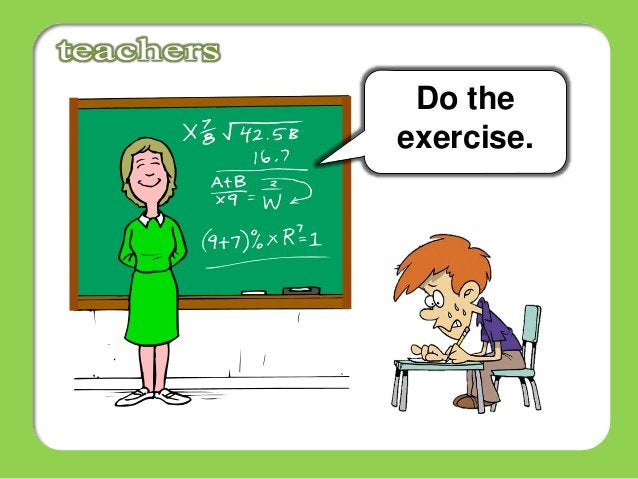 Do the exercise.