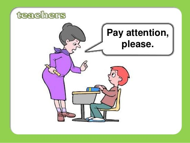 Pay attention, please.