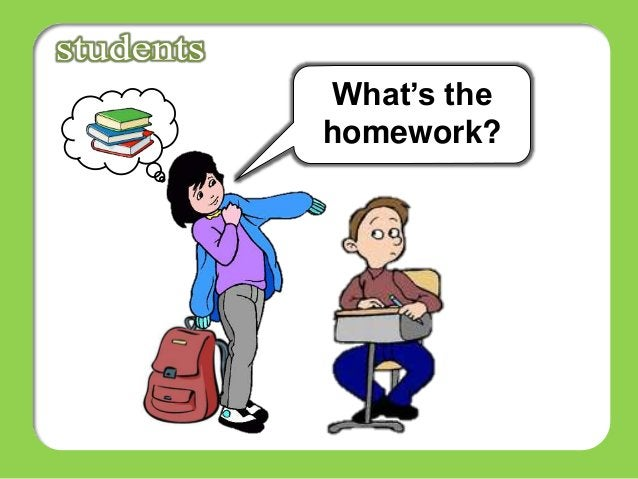 What's the homework?