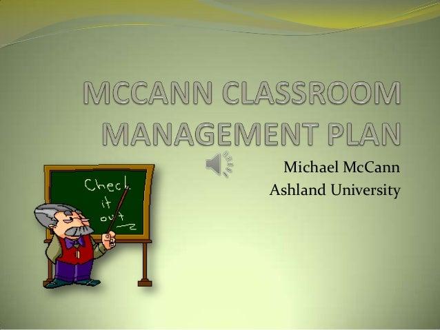 Michael McCann Ashland University