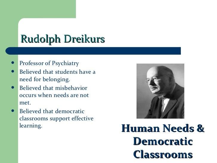 classroom management theories