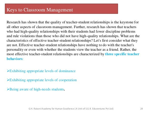 Research Design On Classroom Management : Classroom management ppt