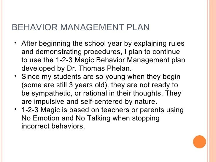 Classroom Behavior Management Plan Template Pictures to Pin on – Behavior Management Plan