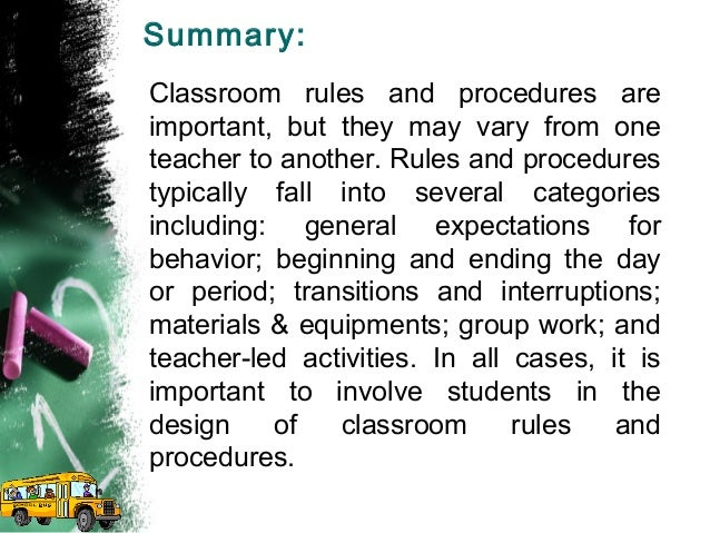 classroom management techniques 14 summary classroom