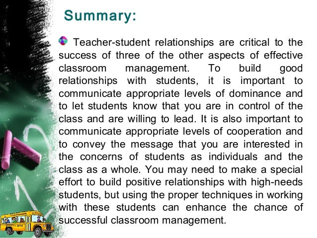 Teachers students relationship essay how to write why college essays