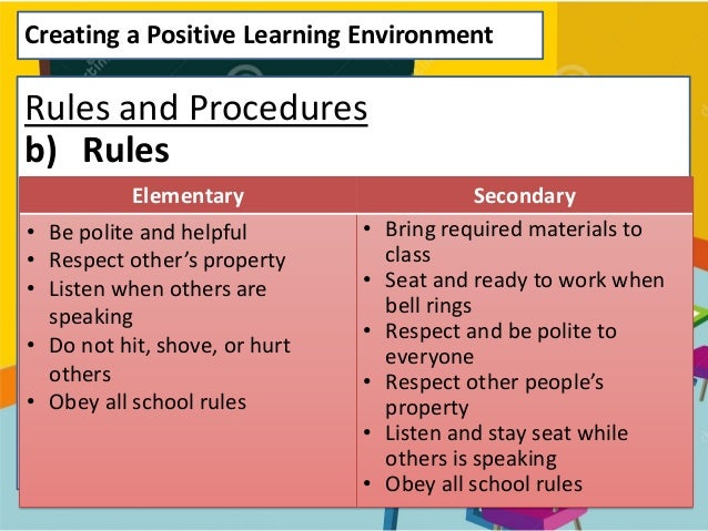 Elementary Classroom Procedures : Classroom management presentation by nursheha mohd hadzri