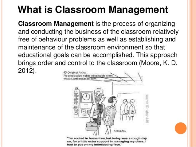 the control of a class classroom management and behavior