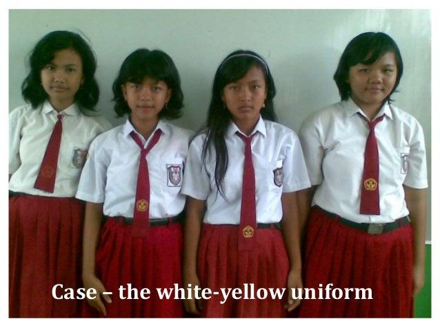 Socioeconomic Bg. - Classroom Case – the white-yellow uniform