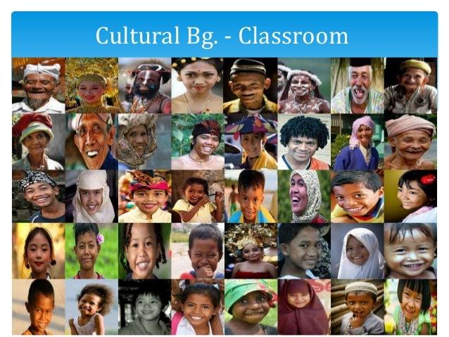 Culturally diverse Cultural Bg. - Classroom