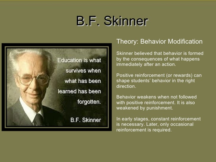 bf skinner in the classroom