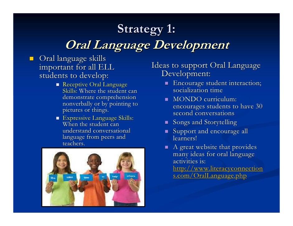 Oral language development strategies — photo 8