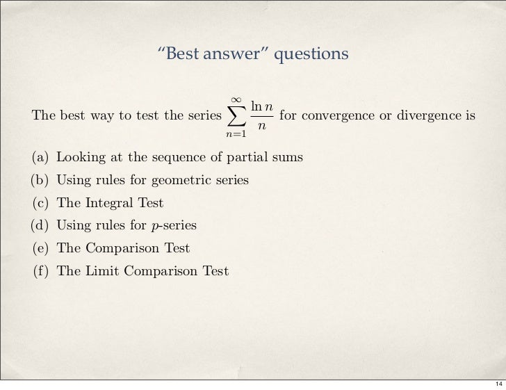 Classroom response systems in mathematics: Learning math