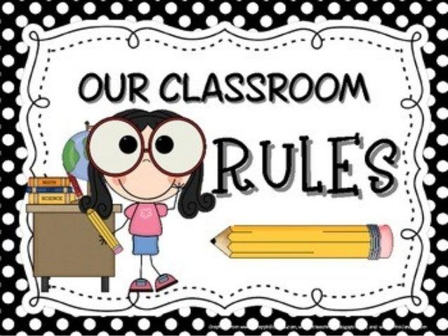Classroom Logo Design : Classroom rules
